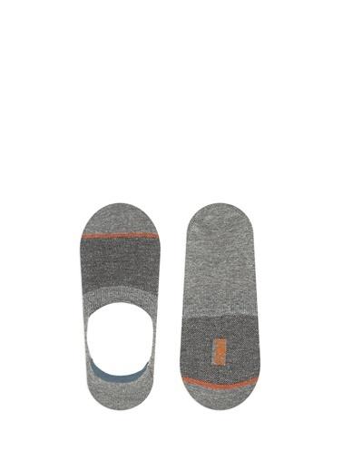 Mavi Erkek  Çizgili Çorap 091741-18790 Gri